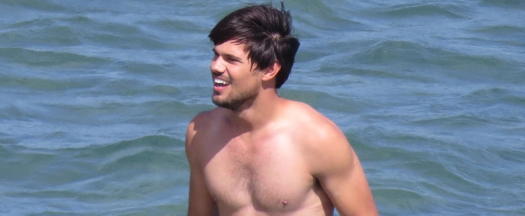 Taylor Lautner May Be Done With Twilight, but He's Still Hot Shirtless