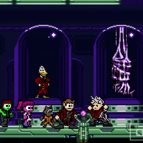 Guardians of the Galaxy in 8-Bit