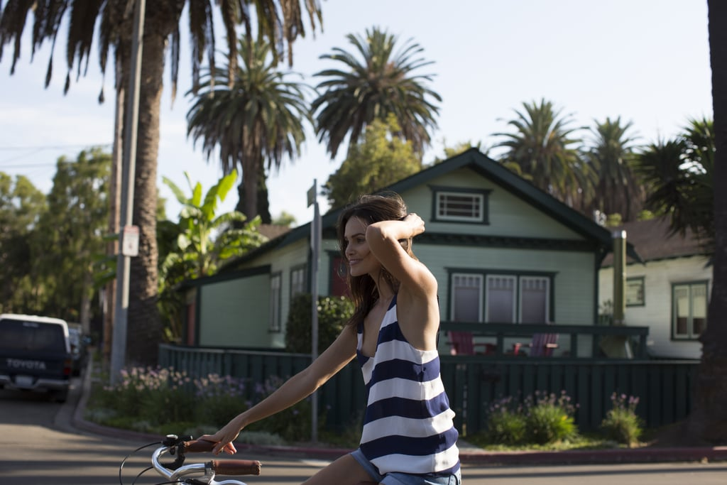 Explore the neighborhood by bike
