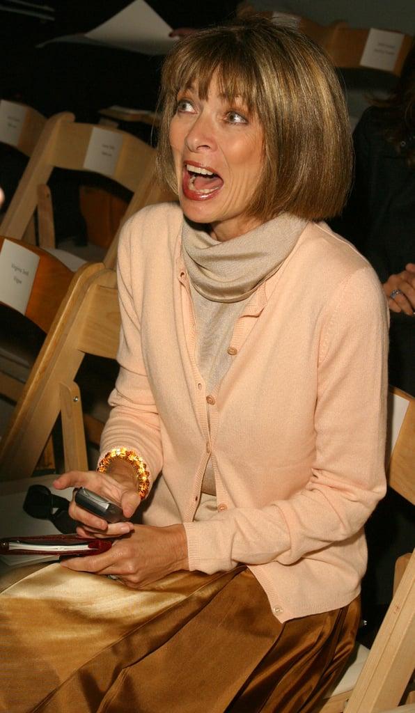 2003: Carolina Herrera Spring 2004 Show