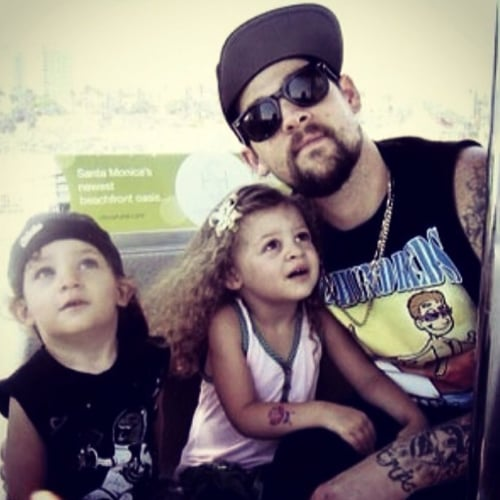 Nicole Richie and Joel Madden's Cute Family Instagrams