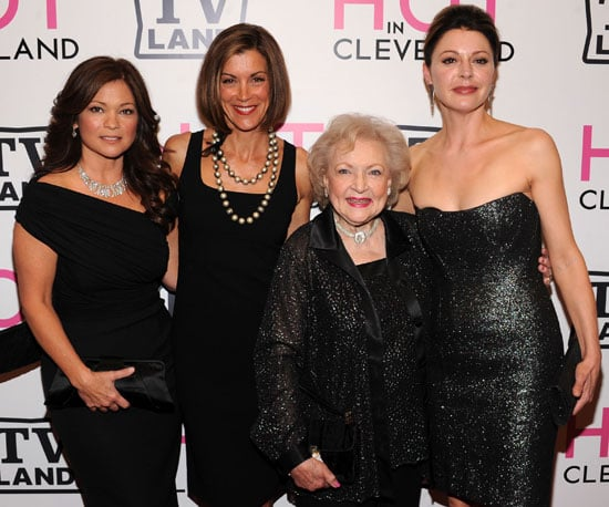 Slide Picture of Betty White at the Hot In Cleveland Premiere