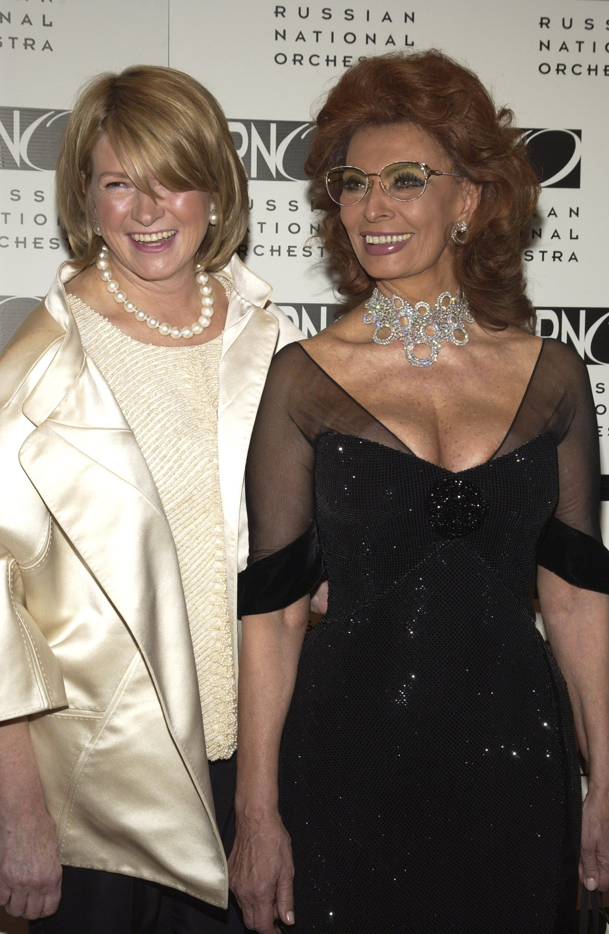 3. That Time She Was Impossibly Chic With Sophia Loren