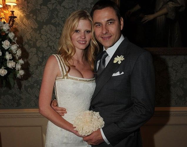 Lara Stone, David Walliams Wed Over Weekend, to Honeymoon in Paris