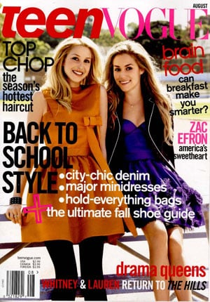Fab Flash: The Hills, Teen Vogue Part Ways