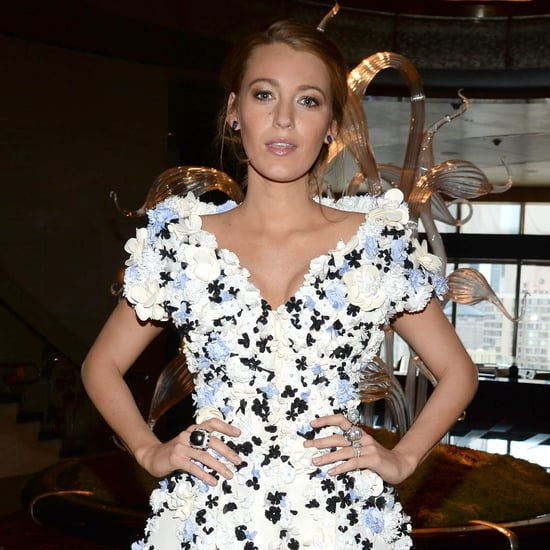 Blake Lively Wearing a Ralph & Russo Dress 2015