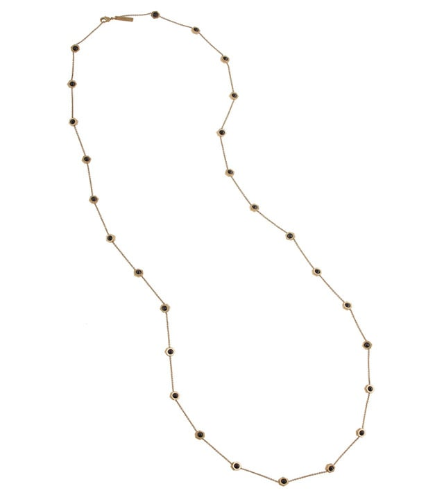 Rachel Zoe Pyramid Stud Stations Necklace ($45)
