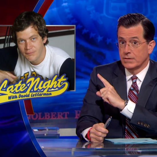 Stephen Colbert Talks About Letterman on The Colbert Report