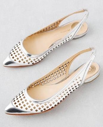 Fab Finger Discount: Modern Vintage Shoes Sling Back Flats