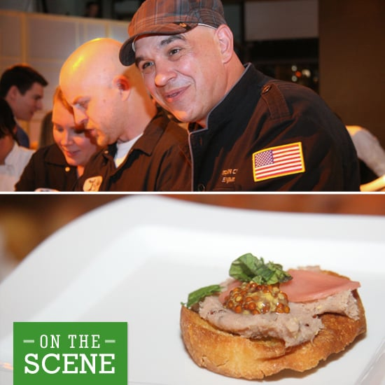 Allez Cuisine! Sampling and Sipping at Alton Brown's Iron Chef Party