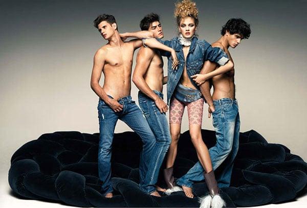 "W Magazine Highlights Louis Vuitton Spring 2010 in ""Beyond Blue"" Editorial"