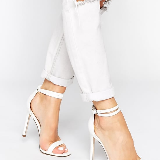 White Heeled Sandals For Spring | Shopping