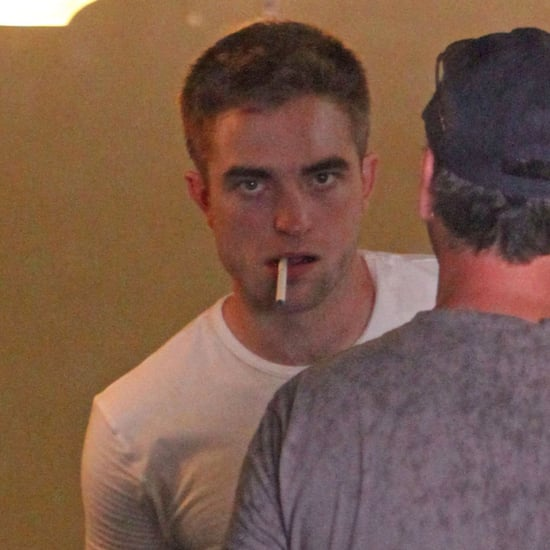 Robert Pattinson on the Set of Map to the Stars | Pictures