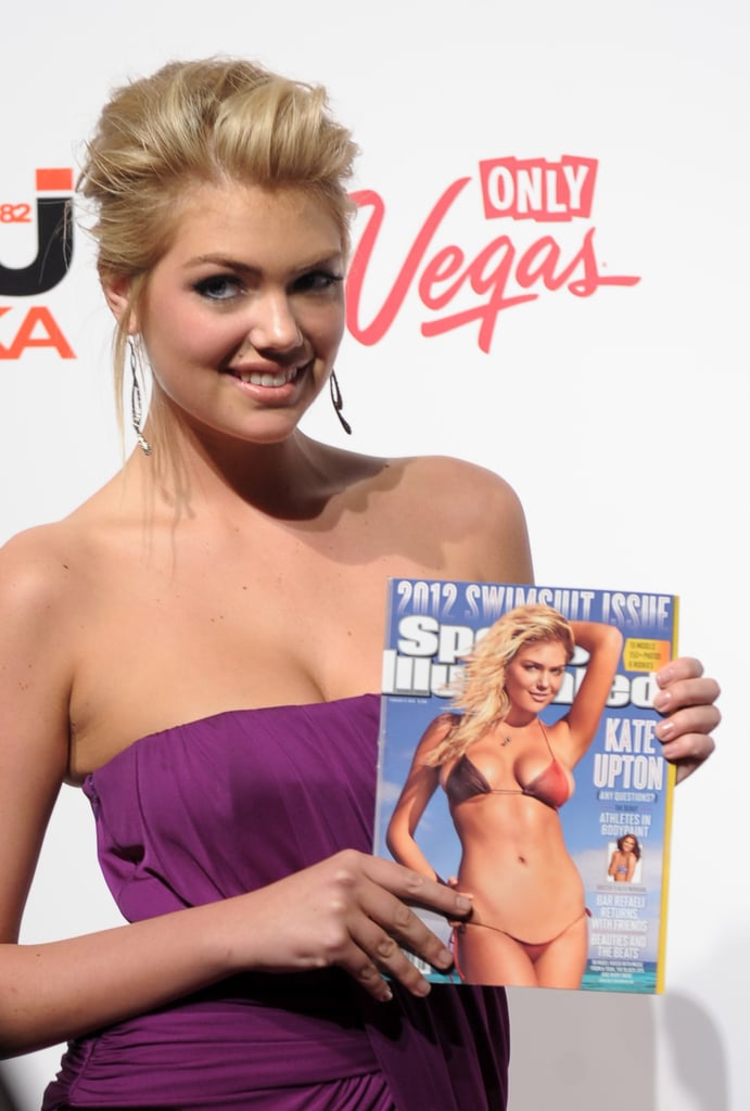 Kate is the latest model to pose for the cover of Sports Illustrated.
