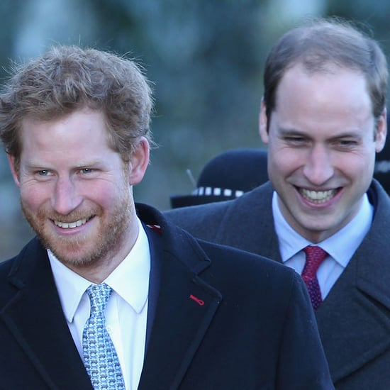 Prince William and Prince Harry Watch Home Videos of Dad