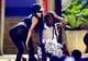 Nicki Minaj got close to Lil Wayne during their performance.