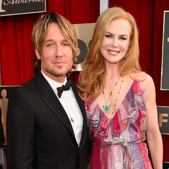 Keith Urban and Nicole Kidman at the SAG Awards 2016