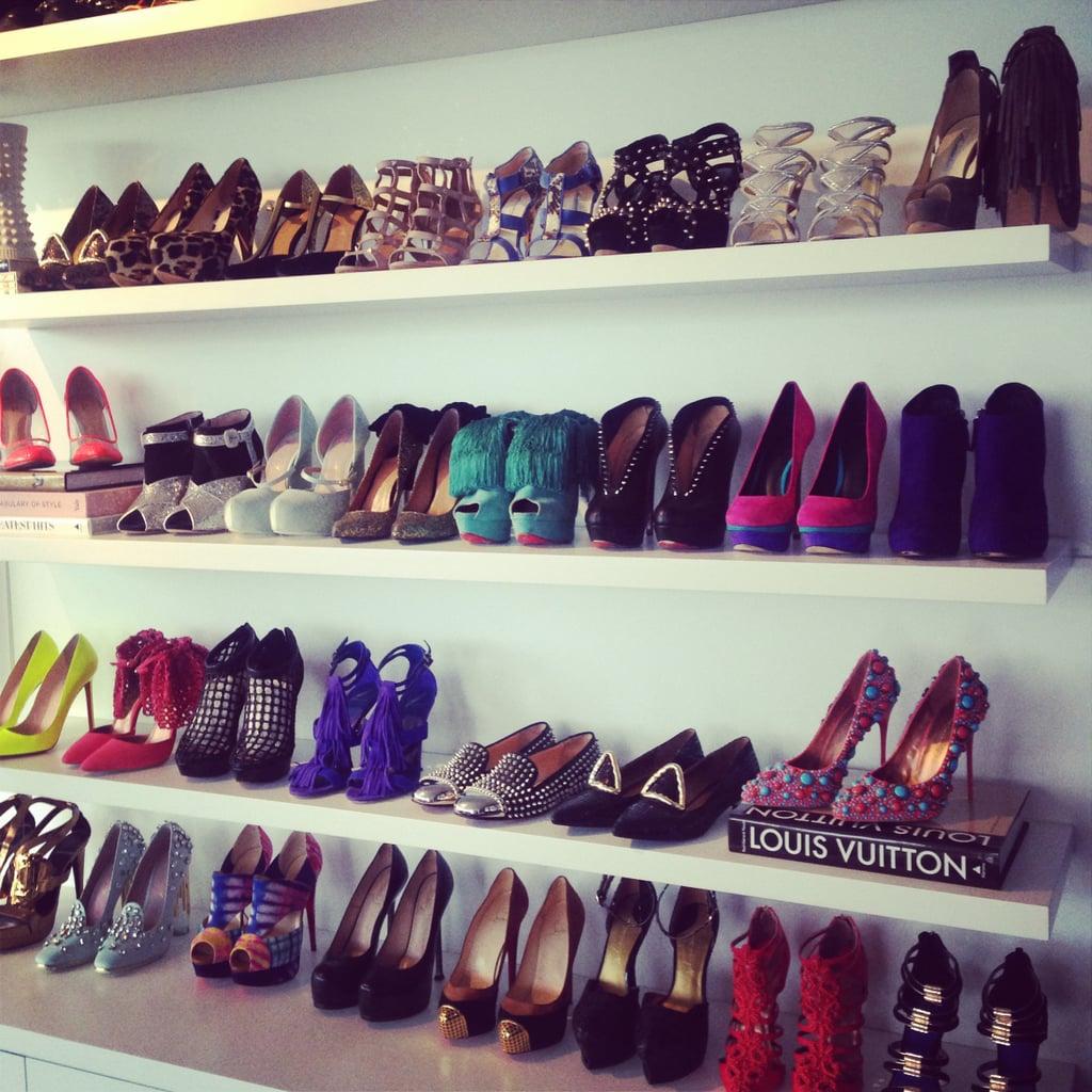 Shoes Double as Decor