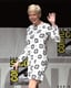 Michelle Williams was all smiles and waves at Comic-Con 2012 in San Diego.