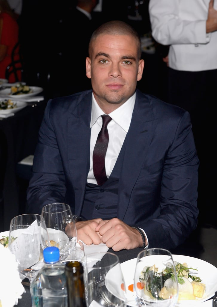 Mark Salling attended the amfAR Inspiration Gala in LA.