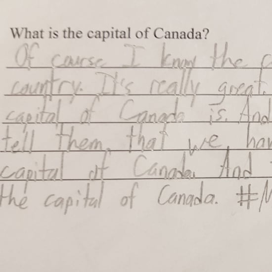 Student Uses Donald Trump Logic in Homework Assignment
