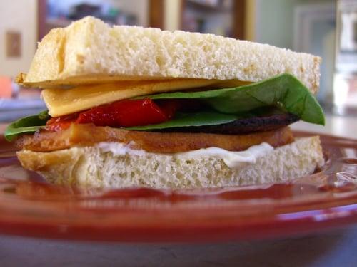 Smoky Miso Tofu Sandwiches
