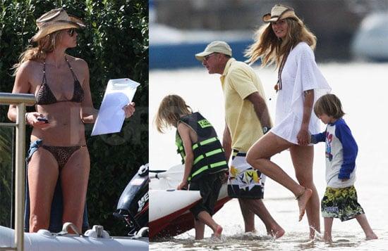 Bikini Photos of Elle MacPherson in Sydney, Australia