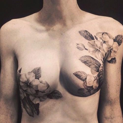 Mastectomy Breast Tattoos