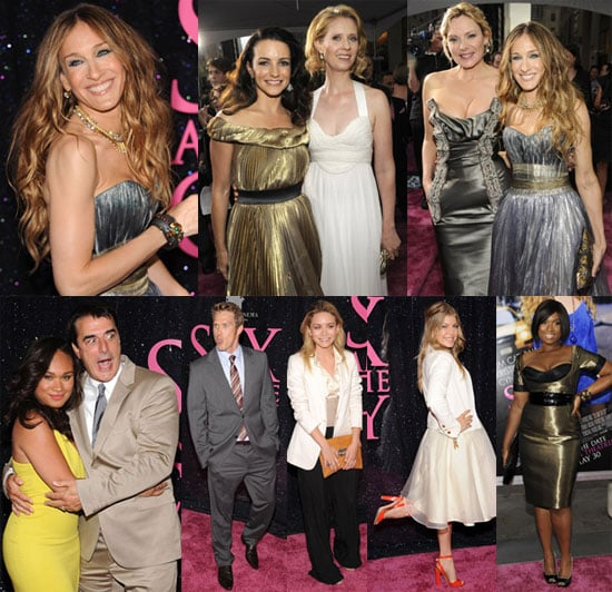 Images of NYC Sex and the City Premiere