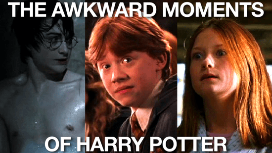 Harry Potter Awkward Moments From the Movies 2010-11-16 09:38:11