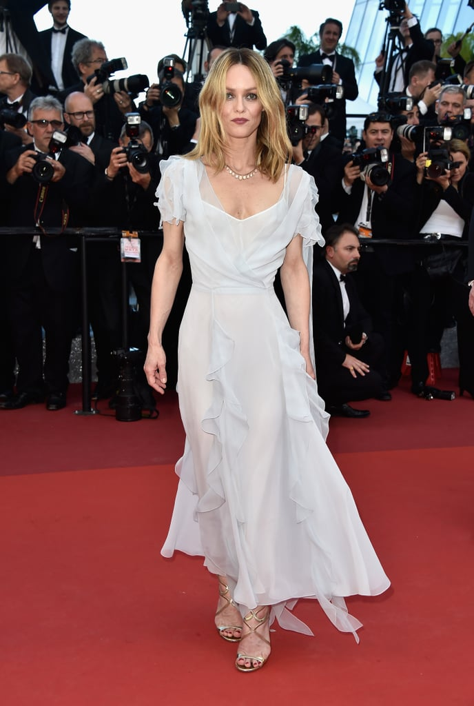 Vanessa Paradis chose an ethereal dress for The Last Face premiere.
