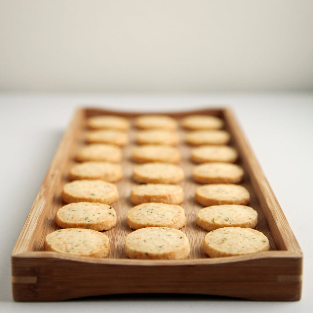 Parmesan, Black Pepper, and Thyme Crackers