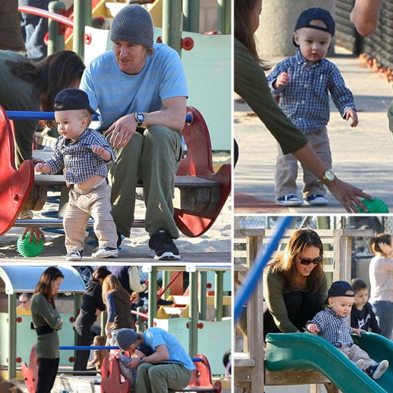 Owen Wilson Has a Picture-Perfect Park Day With Robert Ford