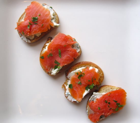 Easy Smoked Salmon and Goat Cheese Crostini Recipe