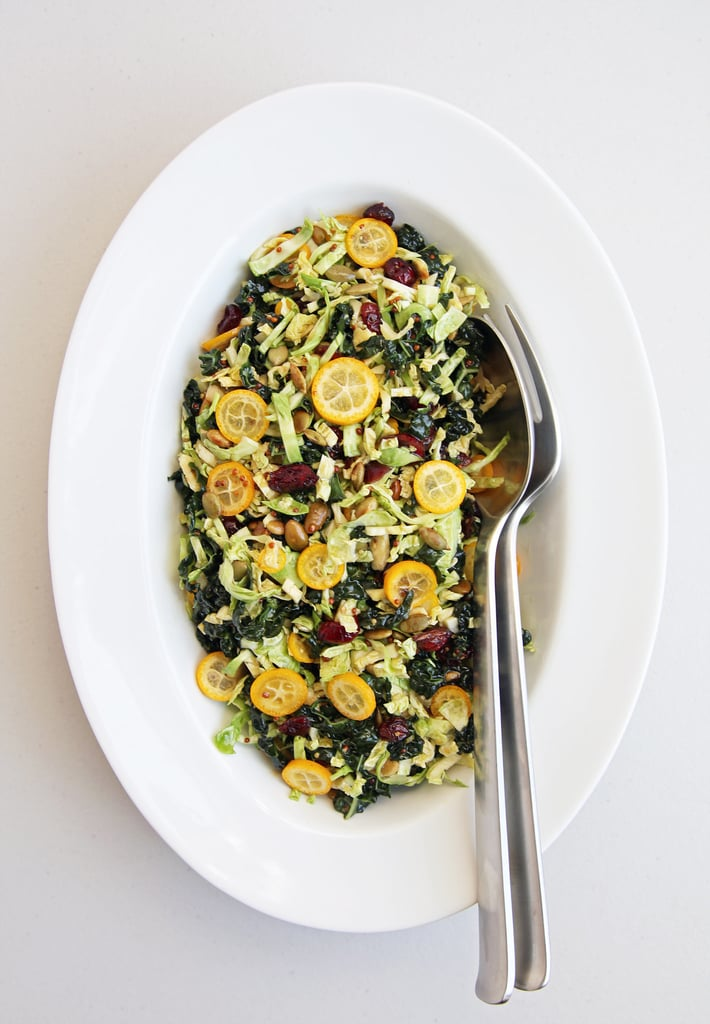 Shredded Brussels Sprouts Citrus Salad
