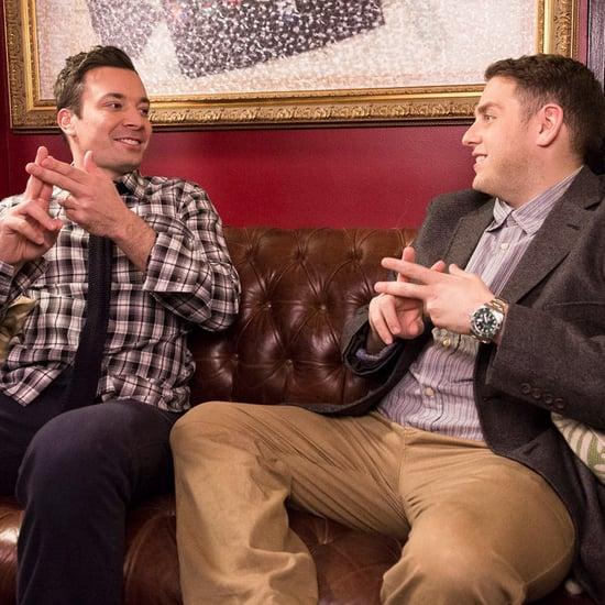 Jimmy Fallon and Jonah Hill Hashtag Skit