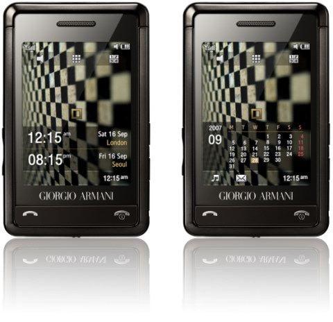 Closer Look: Samsung's Armani Phone