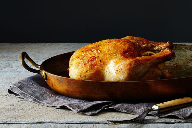 The Simplest Roast Chicken