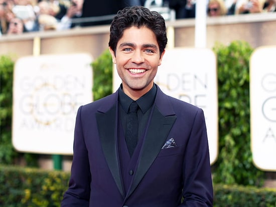 Adrian Grenier's Sweet Mani/Pedi Date - with His Grandma (Photo)