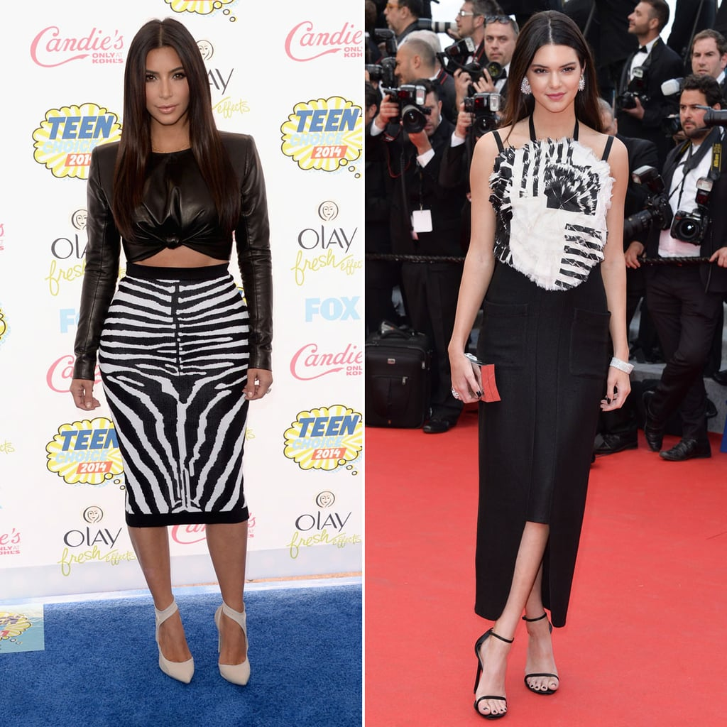 Who Wore Black and White Better?