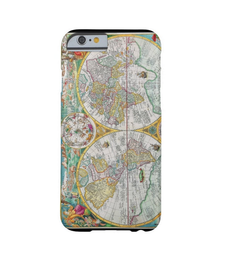 Take a trip to yesteryear thanks to this old world map iPhone case ($51).