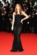 Barbara Palvin took a subtle yet still sexy sheer approach in her black lace gown at the All Is Lost premiere at Cannes.