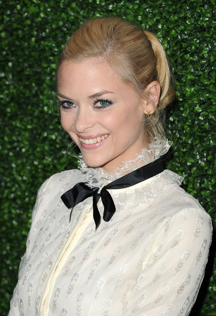 Jaime King at an InStyle party.