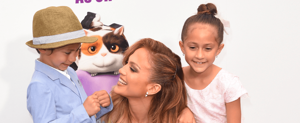 Jennifer Lopez Busts a Move With Her Adorable Twins, Max and Emme