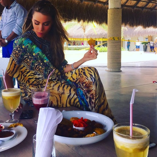 Sofia Vergara's Food in Cartagena, Colombia, May 2016