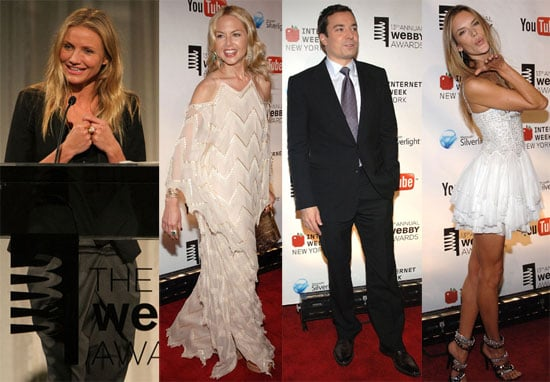 Photos of Cameron Diaz, Rachel Zoe, Jimmy Fallon at 2009 Webby Awards
