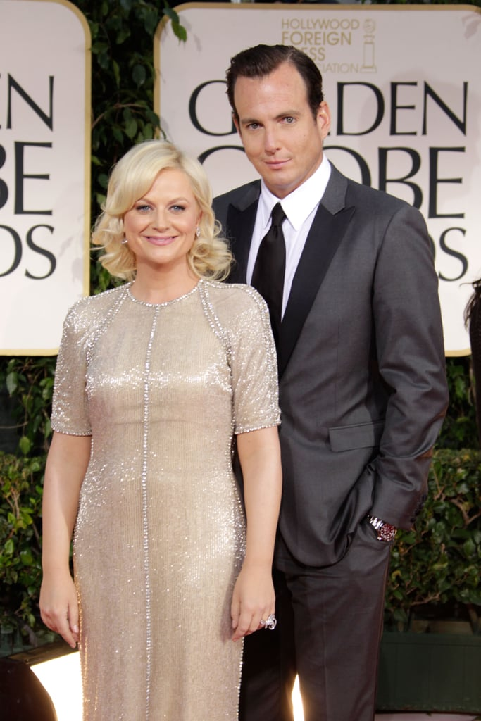 Amy Poehler and Will Arnett Couple Up For the Golden Globes