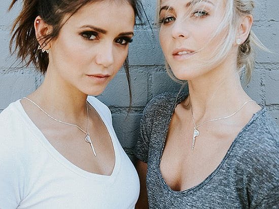 Julianne Hough and Nina Dobrev Are BFFs - and Now They Have the Necklaces to Prove It