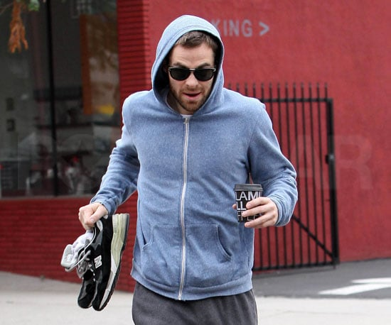 Photo Slide of Chris Pine Out in LA