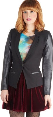 Dress up a pair of skinny jeans or pants with this Modcloth blazer ($48).
